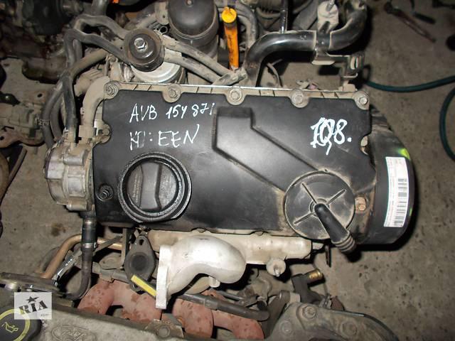 продам Б/у Двигатель Audi A6 1,9tdi № AVB бу в Стрые
