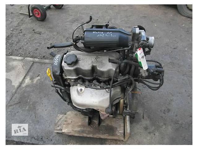 продам Б/у двигатель для легкового авто Daewoo Matiz 0.8 бу в Ужгороде