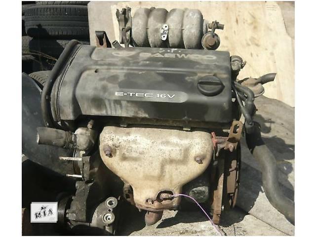 купить бу Б/у двигатель для легкового авто Daewoo Nubira 1.6 в Ужгороде