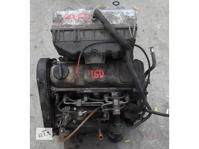 продам Б/у двигатель для легкового авто Volkswagen Jetta1,6д-1,6тд бу в Луцке