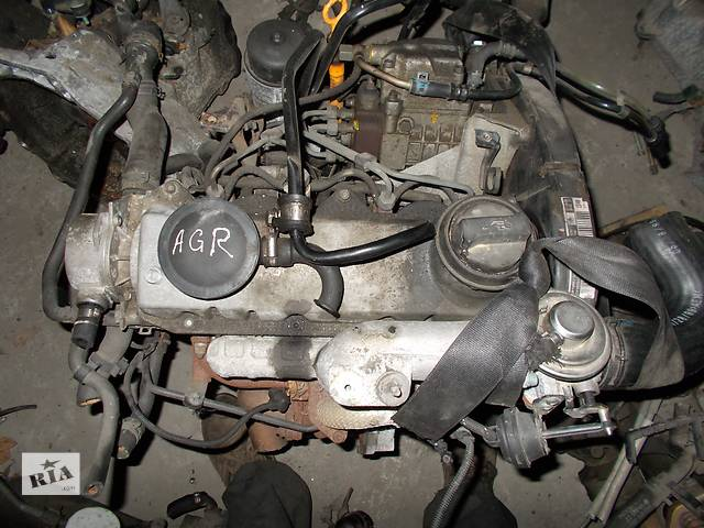 продам Б/у Двигатель Volkswagen Jetta 1.9 tdi № AGR бу в Стрые
