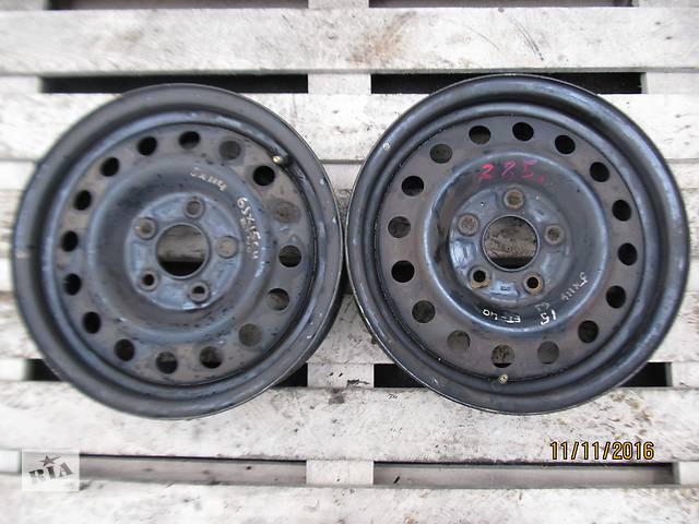 бу Б/у диск колесный Nissan Almera R15 5x114,3 6Jx15CH ET40  в Ровно
