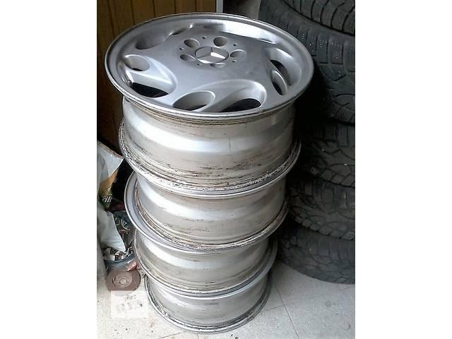 купить бу Литые б/у диски фирмы RONAL 020220 из Германии  Mercedes Вито - A638.639, без пробега по СНГ R16 7j16h2 et55 dia76, 6mm в Белой Церкви (Киевской обл.)