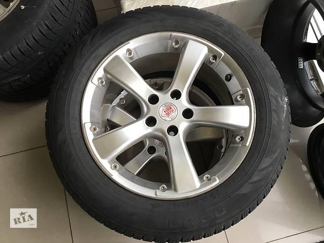 продам Б/у диск с шиной для кроссовера Ford Kuga R17 235/55 бу в Виннице