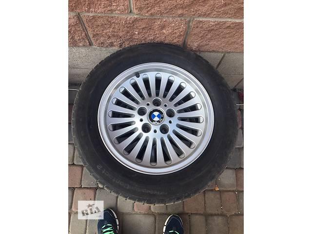 продам Б/у диск с шиной для легкового авто BMW бу в Дубно (Ровенской обл.)