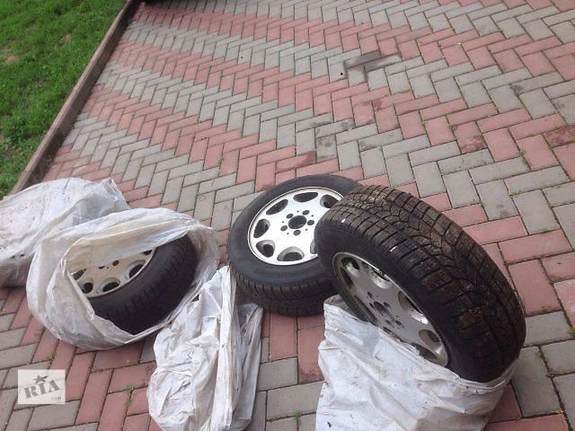 бу Б/у диск с шиной для легкового авто Mercedes 124 в Виннице
