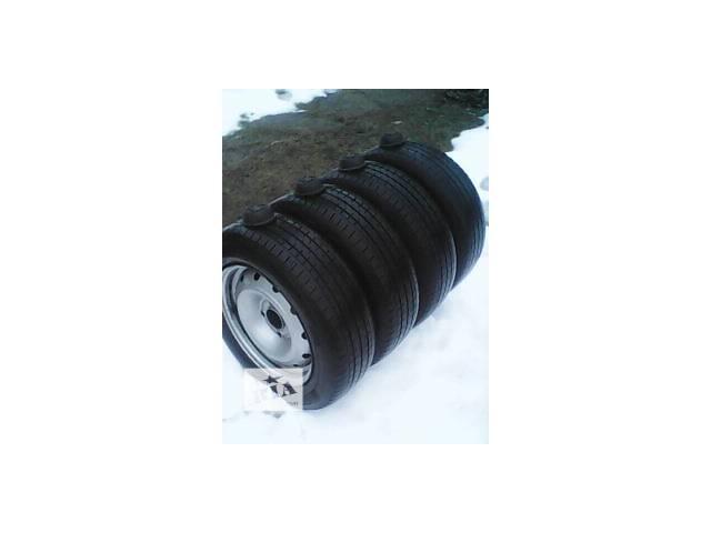 продам Б/у диск с шиной для минивена Peugeot Partner бу в Шполе