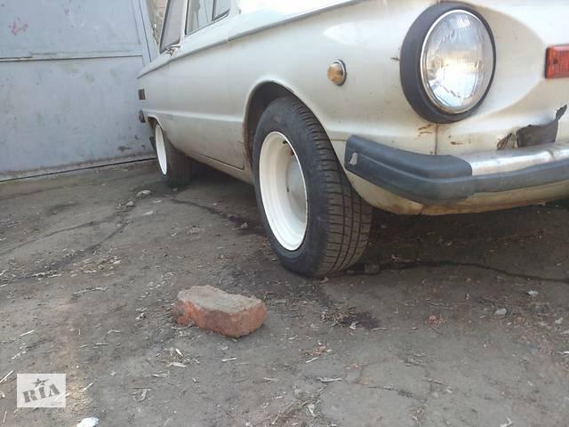 продам Б/у диск з шиною для ЗАЗ 968М бу в Полтаві