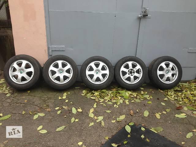 продам Б/у диски R15 с шиной для легкового авто Skoda Octavia Tour бу в Днепре (Днепропетровск)