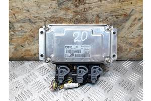 Б/у ЕБУ блок управления двигателем для Peugeot 307 1.6