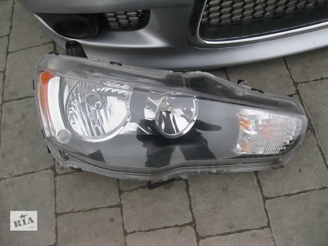 продам Б/у фара для легкового авто Mitsubishi Lancer X бу в Львове