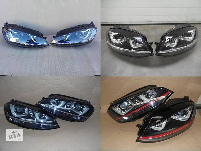 продам Б/у фара для легкового авто Volkswagen Golf VII бу в Львове