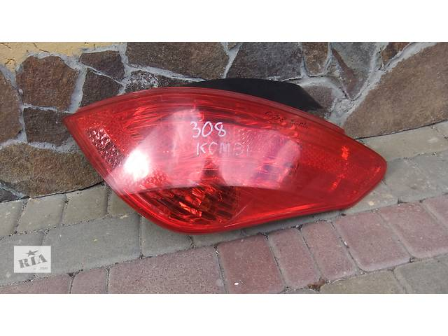 Б/у фонарь задний для хэтчбека Peugeot 308- объявление о продаже  в Луцке