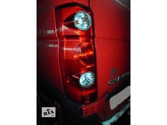 купить бу Б/у Фонарь задний для Volkswagen Crafter Фольксваген Крафтер 2.5 TDI BJK/BJL/BJM (80кВт, 100кВт, 120кВт) в Рожище