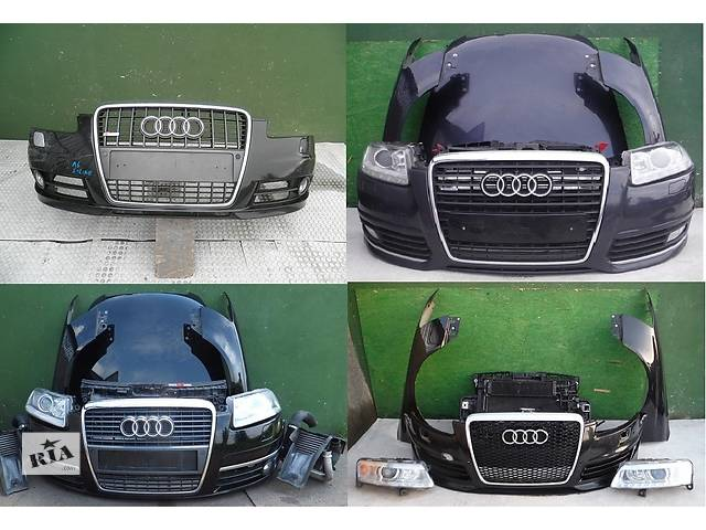бу Б/у капот для легкового авто Audi A6 C6 04-11 в Львове
