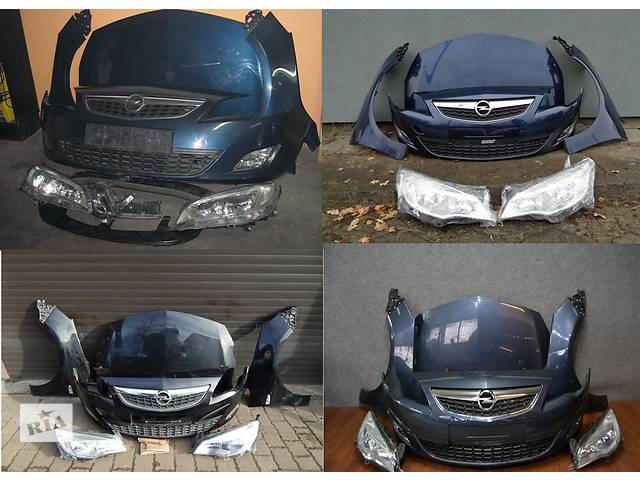 продам Б/у капот для легкового авто Opel Astra J бу в Львове