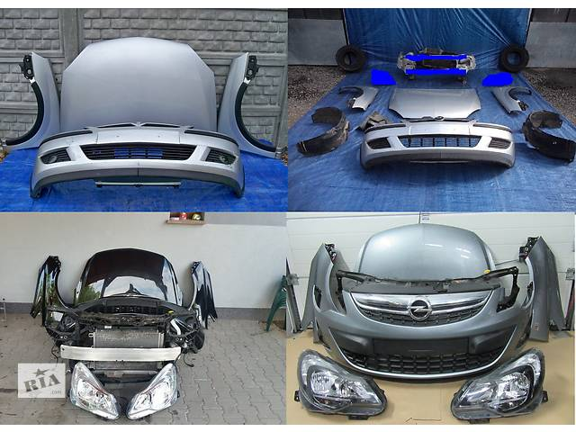 купить бу Б/у капот для легкового авто Opel Corsa в Львове