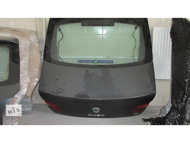 Б/у крышка багажника для хэтчбека Skoda SuperB- объявление о продаже  в Львове