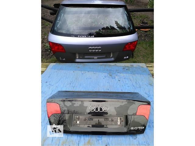 Б/у крышка багажника для легкового авто Audi A4 B7 04-08- объявление о продаже  в Львове