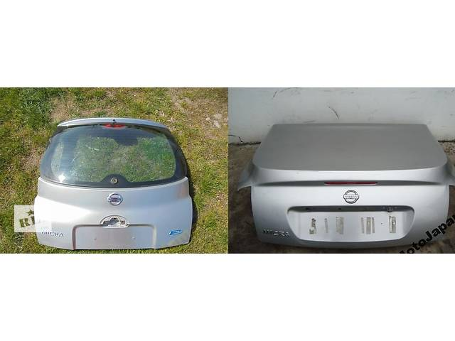 бу Б/у крышка багажника для легкового авто Nissan Micra k12 в Львове