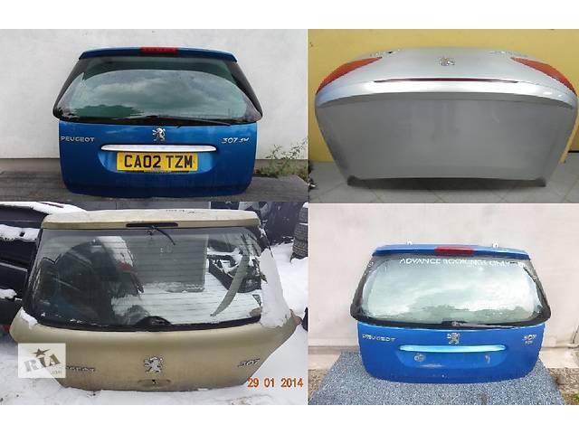 Б/у крышка багажника для легкового авто Peugeot 307- объявление о продаже  в Львове