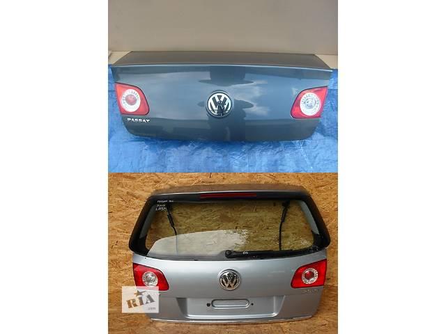 продам Б/у крышка багажника для легкового авто Volkswagen Passat B6 бу в Львове