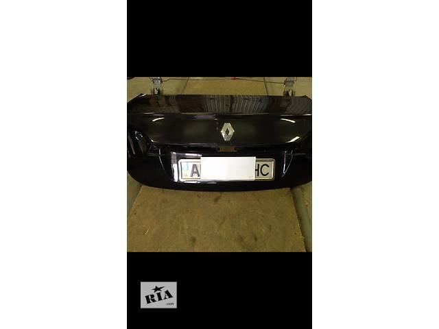 купить бу Б/у крышка багажника для седана Renault Fluence в Днепре (Днепропетровск)