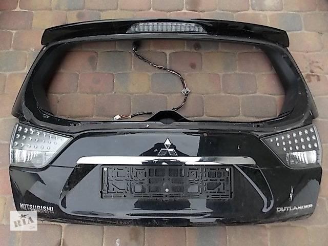 Б/у Крышка багажника Mitsubishi Outlander XL- объявление о продаже  в Киеве