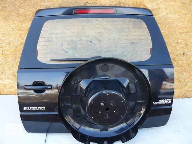 Б/у Крышка багажника Suzuki Grand Vitara 2006-2012- объявление о продаже  в Киеве