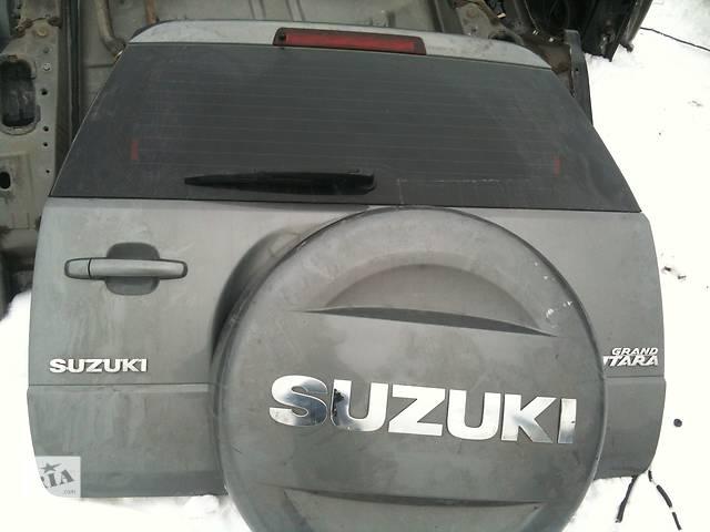 Б/у Крышка багажника Suzuki Grand Vitara- объявление о продаже  в Киеве