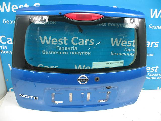 Б/У 2006 - 2012 Note Кришка багажника. Вперед за покупками!- объявление о продаже  в Луцьку