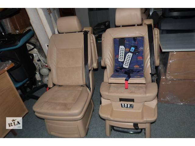 бу Б/у Оригинал Салон на 2двери кожание сиденье для микроавтобуса Volkswagen T5 Multivan в Хусте