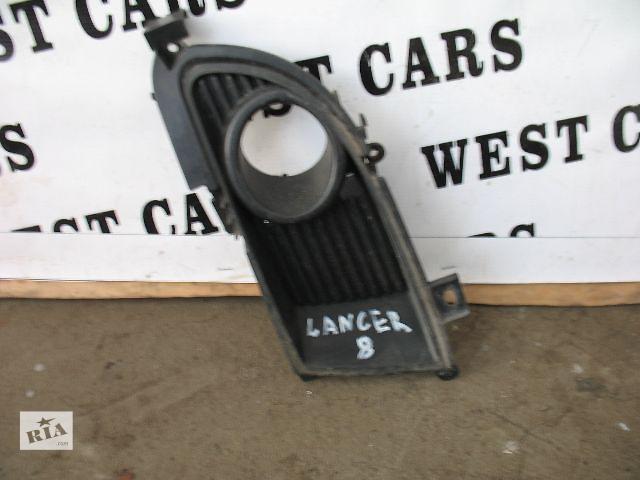 купить бу Б/у решётка бампера для легкового авто Mitsubishi Lancer 2004 в Луцке