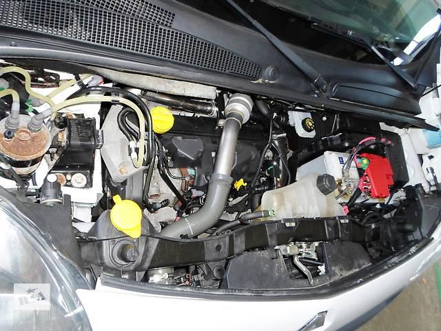 купить бу Б/у Решётка радіатора, бампера Renault Kangoo Кенго 1,5 DCI К9К 2008-2012 в Рожище