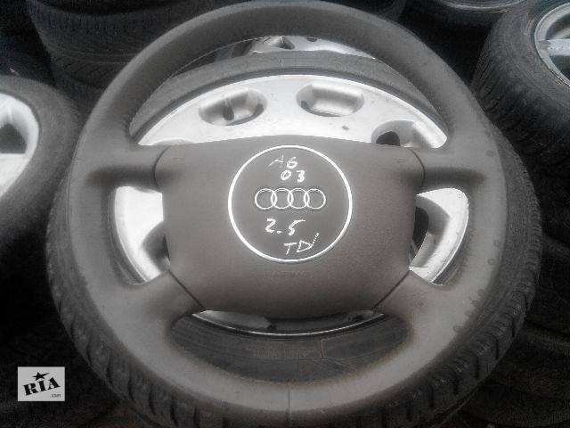 Б/у руль для легкового авто Audi A6 2003- объявление о продаже  в Львове