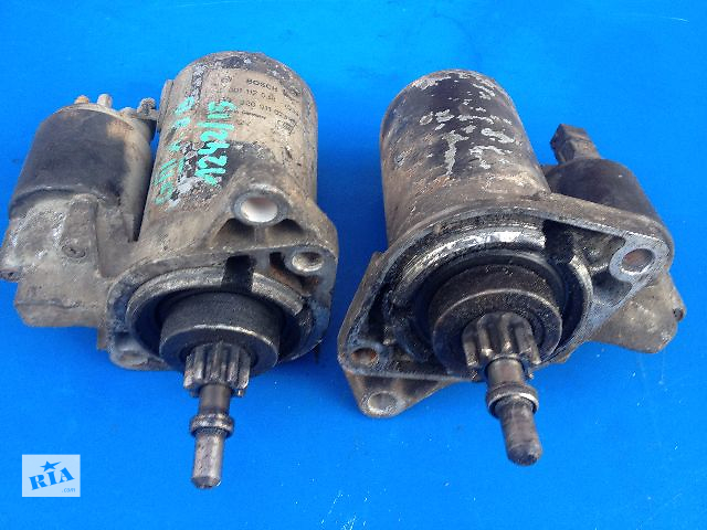 Б/у стартер/бендикс/щетки для легкового авто Volkswagen Vento 1.6-1.8 бензин- объявление о продаже  в Луцке