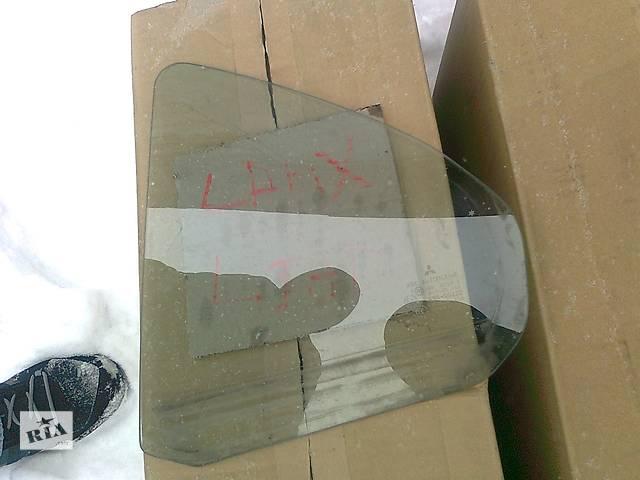 бу Б/у стекло двери для легкового авто Mitsubishi Lancer X в Ровно