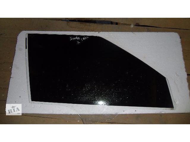 продам Б/у стекло двери передней правой для легкового авто Skoda Fabia 2008 бу в Коломые
