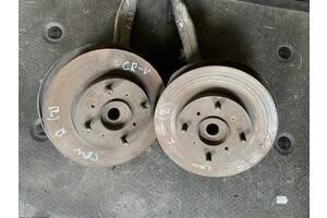 Б/у тормозной диск передний для Honda CR-V rd1 1995-2002 на 4 шпильки!!!!!