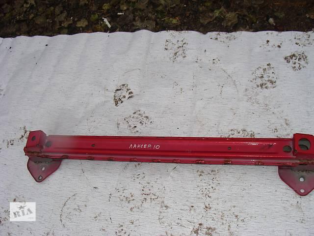 продам Б/у усилитель заднего/переднего бампера для легкового авто Mitsubishi Lancer X бу в Черкассах