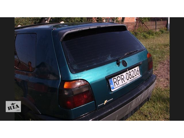 Б/у багажник для легкового авто Volkswagen Golf VI Variant- объявление о продаже  в Львове