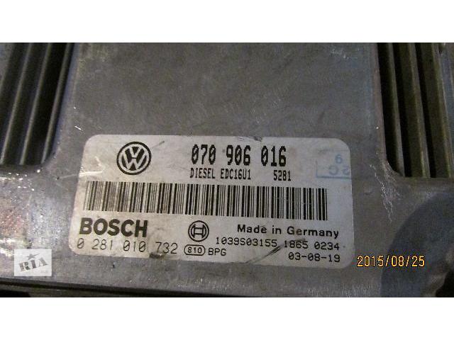 купить бу 070906016 EDC16U1 Блок управления двигателем VW T5 Transporter Caravella Multivan 2.5TDi в Хусте