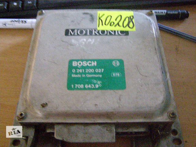 купить бу Б/у блок управления двигателем для легкового авто BMW 3 Series 0261200027  в Таврийске