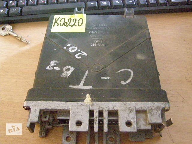 купить бу Б/у блок управления двигателем для легкового авто Volkswagen Passat 2.0i 037906022ED в Таврийске