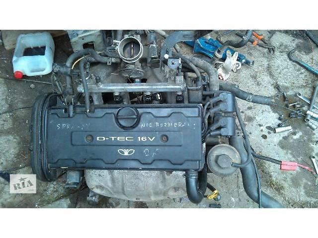 Б/у Детали двигателя Двигатель Легковой Daewoo Nubira Седан 1998- объявление о продаже  в Львове