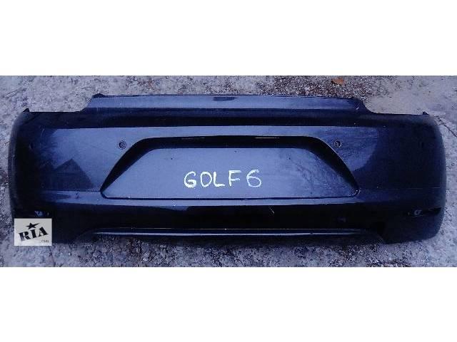 купить бу б/у Детали кузова Бампер задний Легковой Volkswagen Golf VI 2012 в Полтаве
