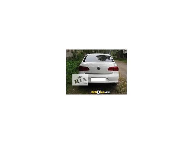 бу б/у Детали кузова Бампер задний Легковой Volkswagen Passat B7 Седан 2012 в Полтаве