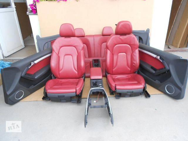 купить бу б/у Детали кузова Салон Легковой Audi A5 в Львове