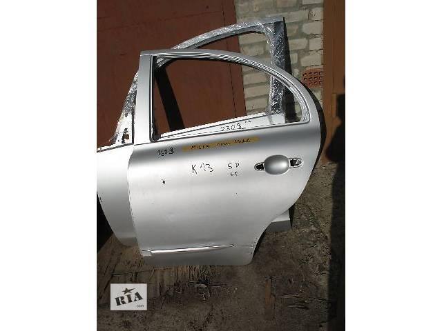 продам б/у Двери/багажник и компоненты Дверь задняя Легковой Nissan Micra Hatchback (5d) 2010 бу в Луцке