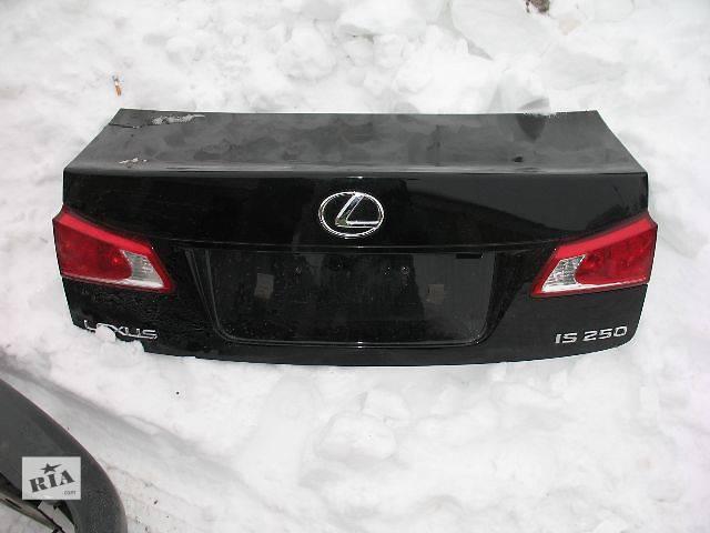 бу б/у Двери/багажник и компоненты Крышка багажника Легковой Lexus IS 2007 в Луцке